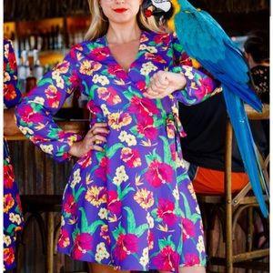 Shinesty Hawaii 6-9 Wrap Dress